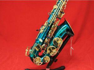 Elkhart 300 Series, Green Metallic Alto Sax