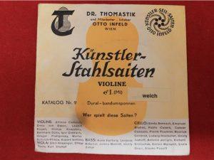 Thomastic – Infeld Wien Violin String E