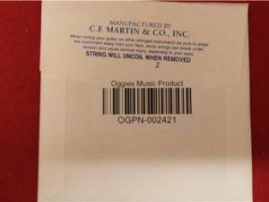 Martin & Co, Mandolin MM24 (2) .024″, 0.61mm