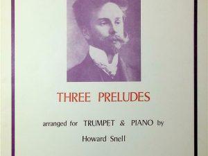 Three Preludes for Trumpet & Piano