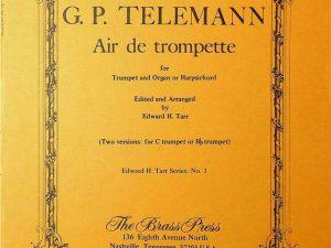 Air De Trompette for Trumpet & Organ
