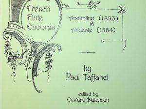 Andantino & Andante: Flute