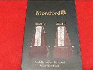 Montford MFMT40 Black Metronome