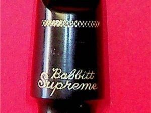 Babbitt Supreme Eb Clarinet Mouthpiece