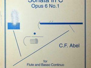 Music For Flute Sonata in C Opus 6 No.1