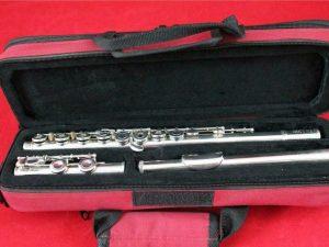Sankyo Etude Open Hole Flute, Silver Head, 6 month guarantee, serviced