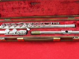 B&H Emperor Flute, serviced to playing order