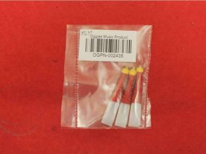 3 Practice Chanter Reeds Plastic