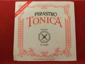 Pirastro Tonica Violin D Nylon String