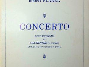 Concerto pour Trompette et Orchestre a Cordes, For Trumpet and Piano