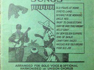 Twelve Popular Plantation Songs