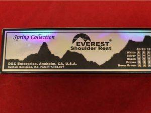 Everest 1/2 Violin Shoulder Rest Hot Pink