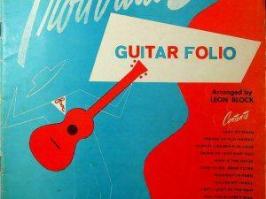 Troubador Guitar Folio