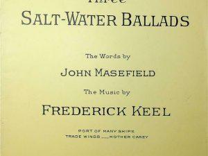 First Set, Three Salt-Water Ballads