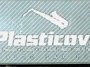 Plasticover Alto Sax Reeds 1 French File Cut Qty 5