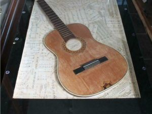 Guitar Themed Coffee Table