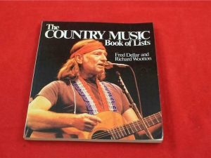 The country music book of lists