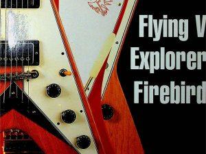 Flying V, Explorer, Firebird: An Odd-Shaped History of Gibson's Electric Guitars