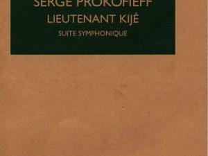 Lieutenant Kije Op. 60 Orchestre