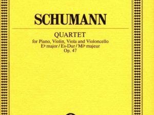 Piano Quartet in Eb Major, Op.47. Miniature Score