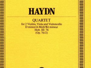 Haydn: String Quartet in F major Op.2/4 Hob III:10 Miniature Score