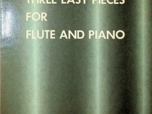 Three Easy Pieces For Flute and Piano