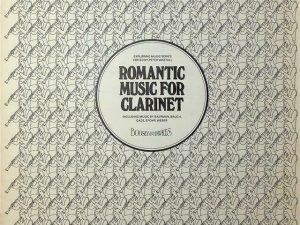 Romantic Music For Clarinet