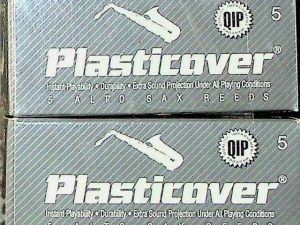 Plasticover Alto Sax Reeds 5 French File Cut Qty 8
