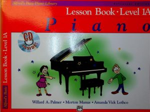 Alfreds Basic Lesson Book Level 1A for Piano