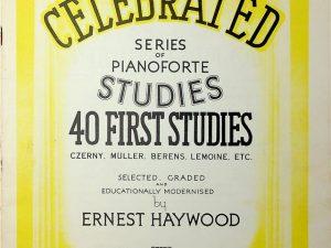 Celebrated Series of Pianoforte Studies, 40 First Studies