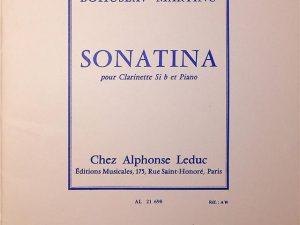 Sonatina For Clarinet and Piano