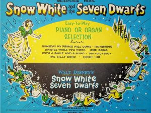 Selections from Snow White and the Seven Dwarfs for Piano or Organ