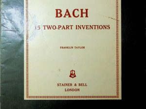 Bach 15 Two Part Inventions