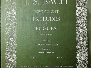 Forty Eight Preludes and Fugues, Pianoforte