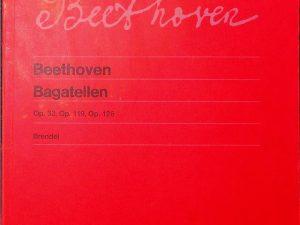 Beethoven, Bagatellen