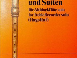 Original Music for Recorder Einzelstucke und Suiten