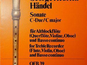 Handel, Sonate C Major