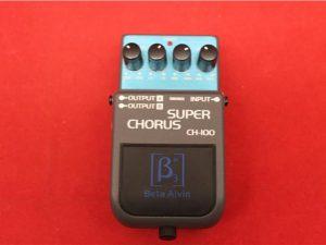 Beta Aivin CH-100 Compact Effect Pedal Super Chorus Signal Processor