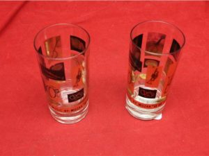 Musical Glass Pair of 2