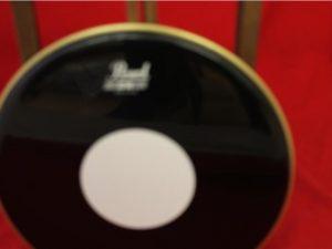 Pearl 13″ BW Black Batter Drum Head