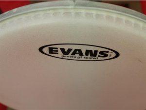 Evans 10″ B10G2 G2 Coated Drum Head
