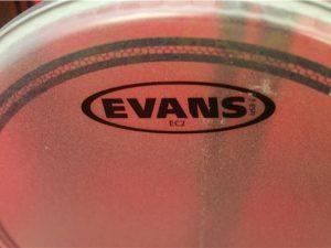 Evans 10″ B10EC2S EC2 Coated SST Drum Head
