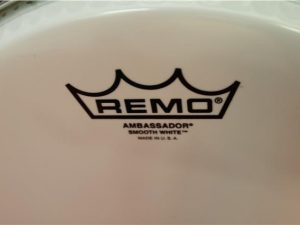 Remo 10″ BA-0210-00 Ambassador Smooth White Drum Head