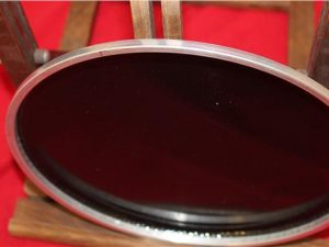 Percussion Plus 10″ Twinblack Plus Drum Head