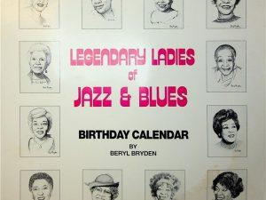 Legendary Ladies of Jazz & Blues Birthday Calendar