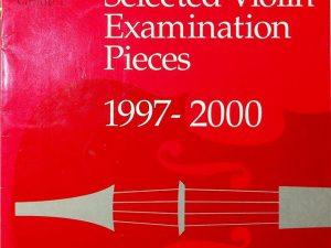 Selected Violin Examination Pieces 1997-2000 Grade 1