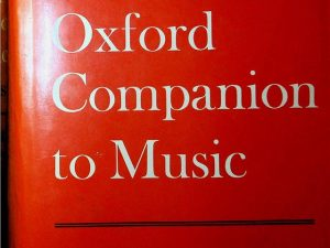 The Oxford Companion To Music 10th Edition