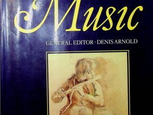 The New Oxford Companion To Music Volume 1