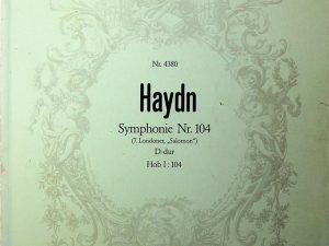 Haydn: Symphony in D Major, Hob. I:104 – London Symphony No. 12