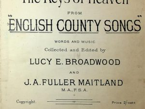 The Keys Of Heaven From English County Songs Duet Version